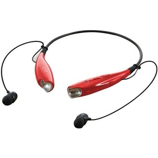 Ilive IAEB25R Bluetooth Neckband and Earbuds - Red