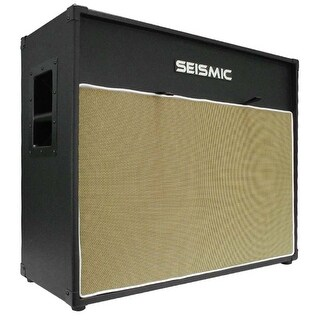 "Seismic Audio 212 GUITAR SPEAKER CAB EMPTY 12"" Cabinet - Vintage 2x12"