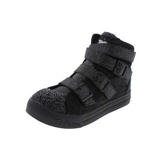 Twinkle Toes by Skechers Girls Crisscross Craze Fashion Sneakers Glitter