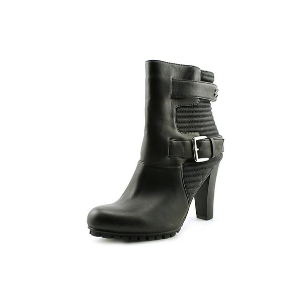 Bar III Womens VALERIE Almond Toe Ankle Fashion Boots