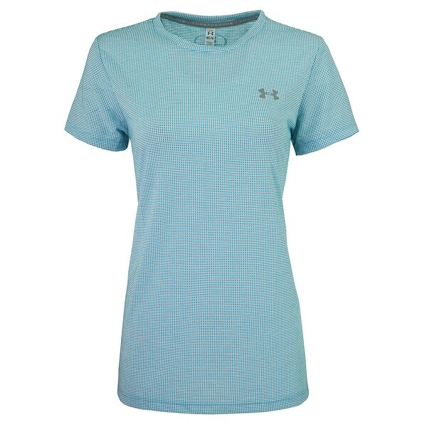 6fd69a487 Shop Under Armour Women's UA Threadborne Grid Crew T-Shirt - Free Shipping  On Orders Over $45 - Overstock - 25071417