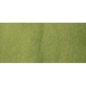 Natural Wool Roving .3oz-Moss Green