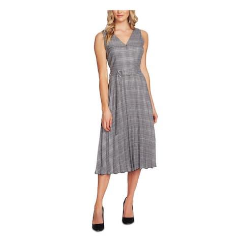 VINCE CAMUTO Gray Sleeveless Midi Dress 14