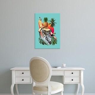 Easy Art Prints Ali Gulec's 'Chillax' Premium Canvas Art