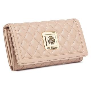 Moschino JC5535 0108 Turtle Dove Zip Around Envelope Wallet