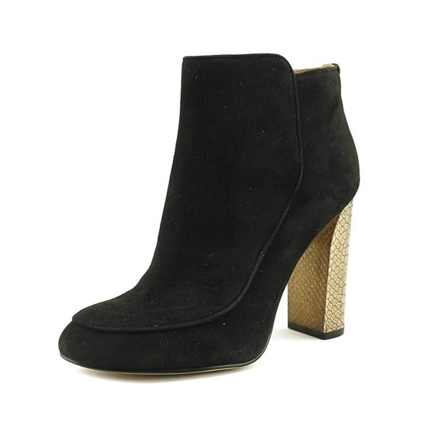 Calvin Klein Womens Jaslina Closed Toe Ankle Fashion Boots