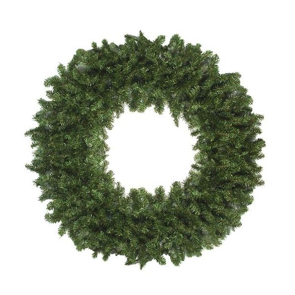 Commercial Size 12' Canadian Pine Artificial Christmas Wreath - Unlit