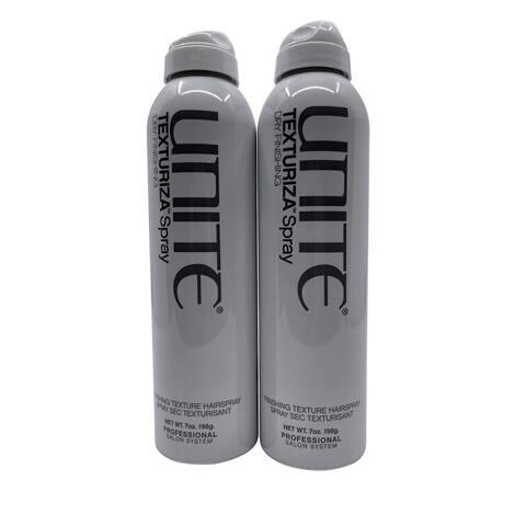 Unite Texturiza Spray Finishing Texture Spray 7 OZ Set of 2 - 10.1 - 15 Oz.