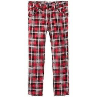 Vigoss Plaid Toddler Skinny Pants - 4