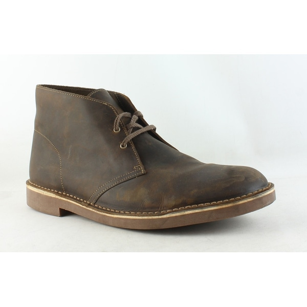 72d5012e34f Shop Clarks Mens Bushacre 2 Beeswax Ankle Boots Size 15 - Free ...