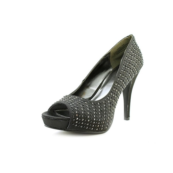 Rampage Gimme Womens Black Pumps