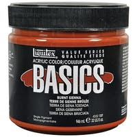Liquitex - BASICS Acrylic Color - 32 oz. Jar - Burnt Sienna