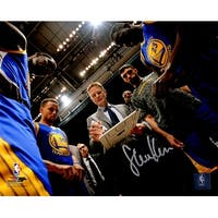 Steve Kerr Golden State Warriors Coaching Team Huddle 8x10 Photo