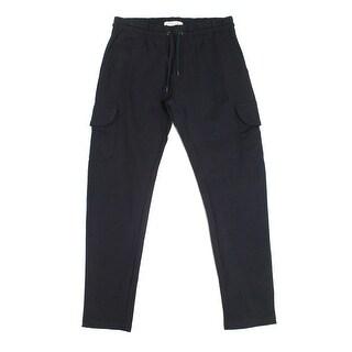 Soverign Code NEW Black Men's Size Large L Cargo Drawstring Pants