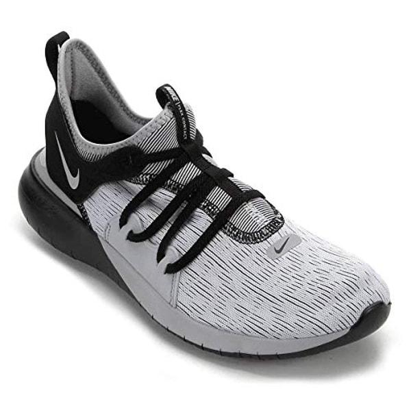 Shop Nike Mens Flex Contact 3 Wolf Grey