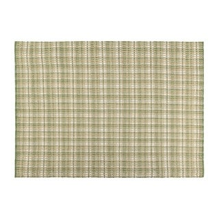Better Trends Ascot Plaid Collection Durable Stain Resistant Reversible Indoor Outdoor Area 100% Polypropylene in Vibrant Colors