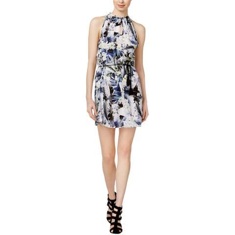 Kensie Womens Floral Shift Dress