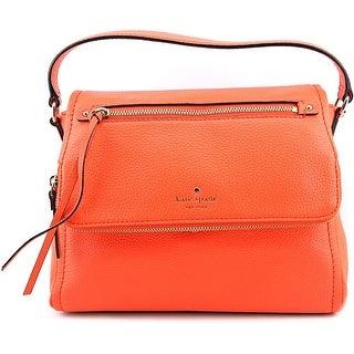 Kate Spade Cobble Hill Toddy Women Leather Orange Satchel