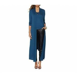 Nene Leakes NEW Blue Womens Small S Maxi Open-Front Cardigan Sweater|https://ak1.ostkcdn.com/images/products/is/images/direct/3af61ccaf6d837464c725762166b577d3ab7d82b/Nene-Leakes-NEW-Blue-Womens-Small-S-Maxi-Open-Front-Cardigan-Sweater.jpg?impolicy=medium