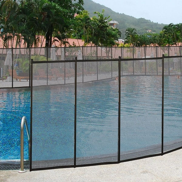 Costway In-Ground Swimming Pool Safety Fence Section Accidental. Opens flyout.