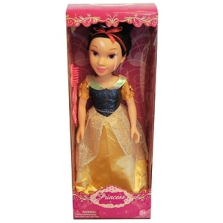 "19"" Princess Doll In Yellow And Blue Dress (Snow White Like) - multi"