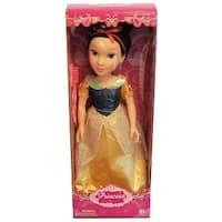 """19"""" Princess Doll In Yellow And Blue Dress (Snow White Like) - multi"""