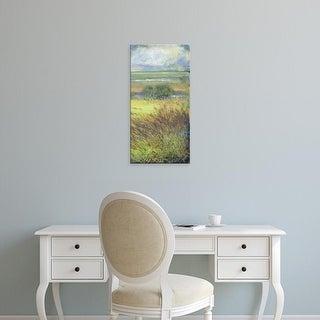 Easy Art Prints H. Thomas's 'Shimmering Marsh II' Premium Canvas Art