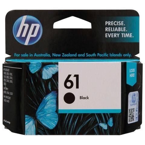HP 61 Black Original Ink Cartridge, CH561WN