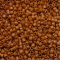 Miyuki Duracoat Delica, Japanese 11/0 Seed Beads, 7.2g Tube, Opaque Persimmon Orange DB2108 - Thumbnail 0