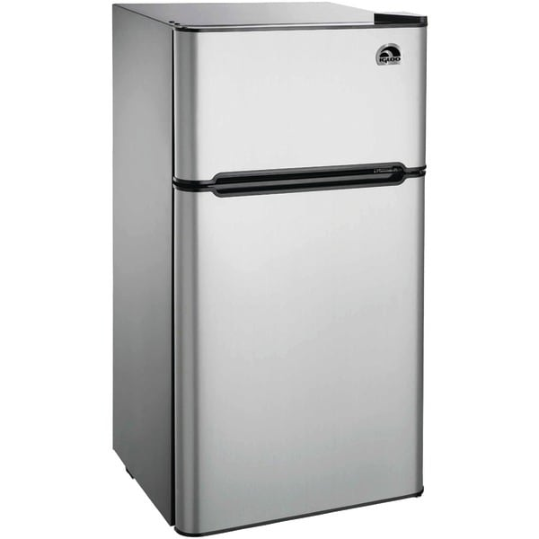 Igloo Fr459 4.5 Cubic-Ft 2-Door Stainless Steel Refrigerator