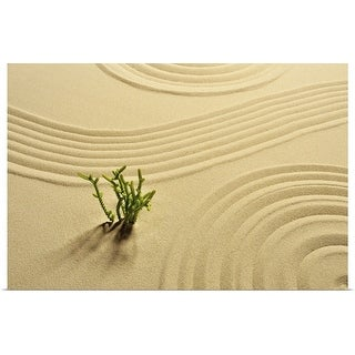 """""""Zen garden"""" Poster Print"""