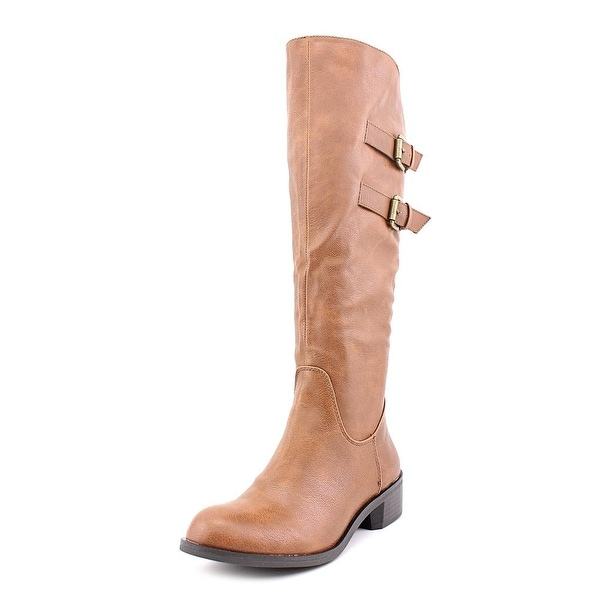 Style & Co Masen Riding Boot Womens Tan Boots