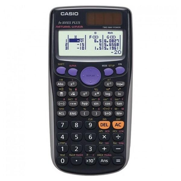 Casio Inc. FX300ESPLUSB Casio FX-300ES Plus Scientific Calculator