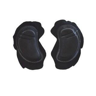 2 PC Road/Racing/Track Motorcycle/Biker Knee Sliders Black PR4