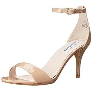 Steve Madden Womens Sillly Evening Sandals Metallic Pumps