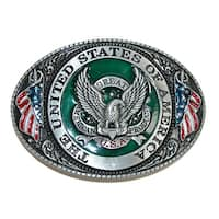 CTM® USA American Eagle Belt Buckle