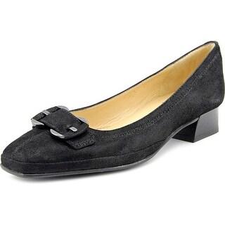 Amalfi By Rangoni Mora Square Toe Leather Heels