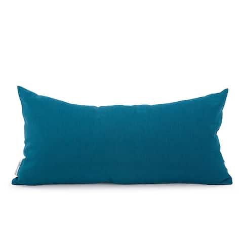 Seascape Turquoise Kidney Pillow