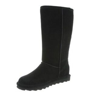 Bearpaw Boots Womens Elle Tall Faux Fur Lined Suede Waterproof 1963W