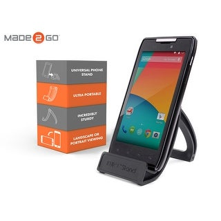 Made2Go KurvStand Universal Phone and Tablet stand - Black