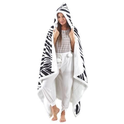 "Natasha 50""x70"" Blanket with Hoodie"