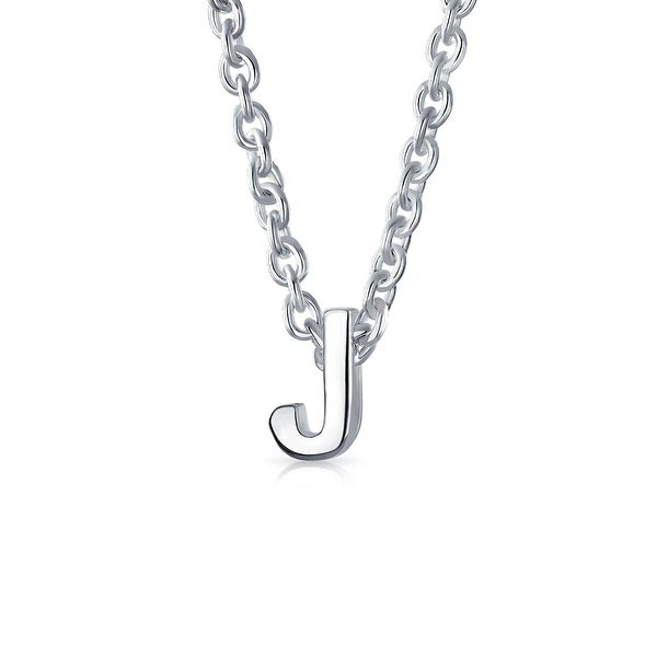 Shop bling jewelry 925 silver small letter j initial pendant bling jewelry 925 silver small letter j initial pendant necklace aloadofball Image collections