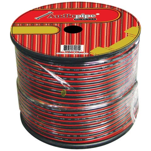 Nippon cable16black speaker cable 16 ga. 1000' audiopipe; red + black