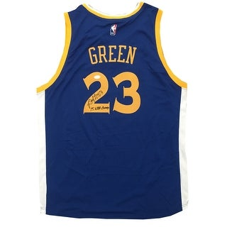 63ef4baefb7 Shop Draymond Green Autographed Golden State Warriors Signed Basketball Swingman  Jersey 2015 NBA CHAMPS JSA COA 9 - Free Shipping Today - Overstock - ...
