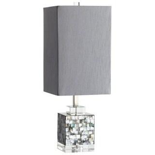 Cyan Design 5568 Johor 1 Light Table Lamp - silver grey smoke