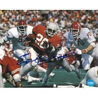 Earl Campbell signed Texas Longhorns 16x20 Photo Heisman vs Oklahoma