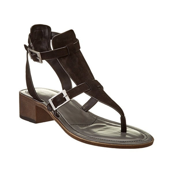 Charles by Charles David Womens Calvin Leather Split Toe Casual Ankle Strap S...