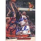 Glen Rice Miami Heat 1993 Fleer Ultra Autographed Card This item comes with a certificate of authenticity from Autogr