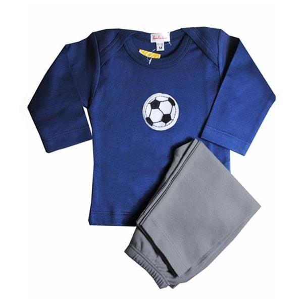 Loralin Design BNS12 Soccer Outfit - Blue 12-18 Months