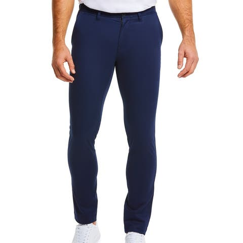 Lacoste Mens Chino Pants Navy Blue Size 42X32 FR 52 Regular-Fit Stretch